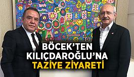 Böcek'ten Kılıçdaroğlu'na taziye ziyareti
