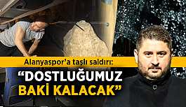 """Gömeç, Alanyaspor saldırısı hakkında açıklama yaptı: """"Dostluğumuz baki kalacak"""""""