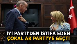 İYİ Parti'den istifa eden Çokal AK Parti'ye geçti
