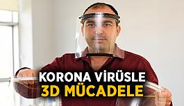 Korona virüsle 3D mücadele