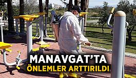 Manavgat'ta önlemler arttırıldı