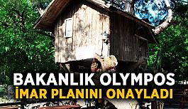 Bakanlık Olympos İmar Planını onayladı