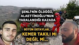 Şenli'nin öldüğü, Alaettinoğlu'nun yaralandığı kazada Bütün detaylar.. Kemer takılı mı değil mi…