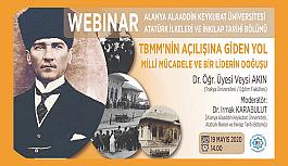 ALKÜ'den online konferans