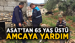ASAT'tan 65 yaş üstü amcaya yardım