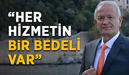 """Nuri Demir tarifeyi eleştirenleri kınadı: """"Her hizmetin bedeli var"""""""