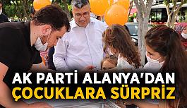 AK Parti Alanya'dan çocuklara sürpriz