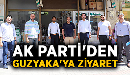 Ak Parti'den Guzyaka'ya ziyaret