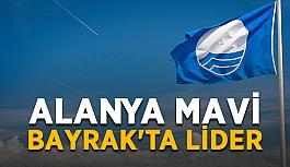 Alanya Mavi Bayrak'ta lider