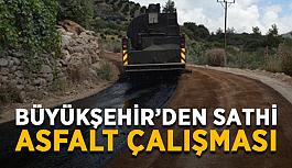 Büyükşehir'den sathi asfalt çalışması