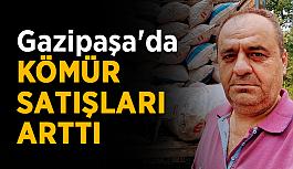 Gazipaşa'da kömür satışları arttı