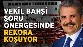 Milletvekili Feridun Bahşi'yi soru önergelerindekimse durduramıyor