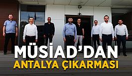 MÜSİAD'dan Antalya çıkarması