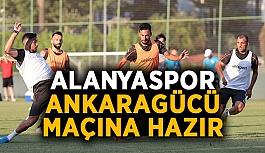 Alanyaspor, Ankaragücü maçına hazır