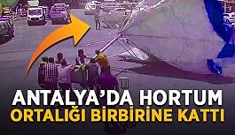 İklimler değişiyor! Antalya'da hortum ortalığı birbirine kattı