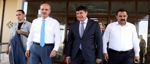 Turizm Bakanı Kurtuluş'un ilk durağı Antalya