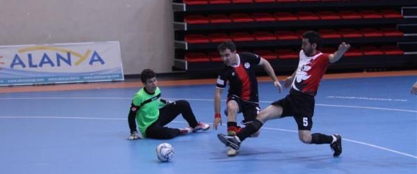Türkiye görme engelliler maçları Alanyada