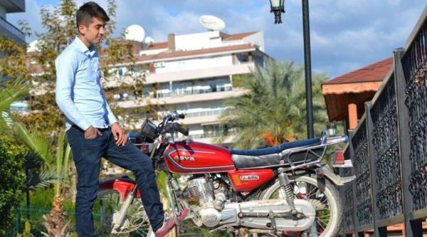 Tutkunu olduğu motosiklet sonu oldu