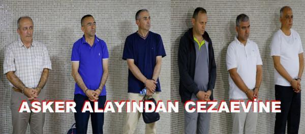 Tutuklanan komutanların tam listesi