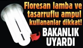'FLORSAN LAMBALARI EVDE BEKLETMEYİN'