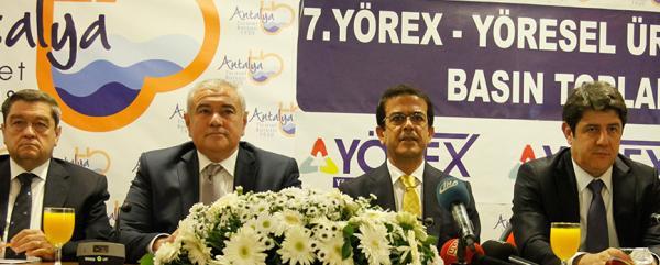 YÖREX'in kapıları 7'nci kez açılıyor: Alanya'da katılacak
