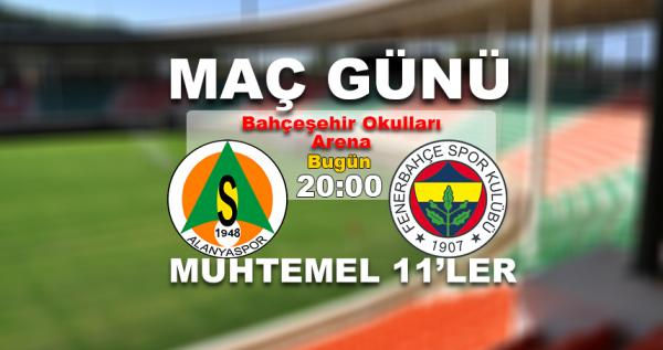 Zorlu Fenerbahçe maçının muhtemel 11\\\'leri