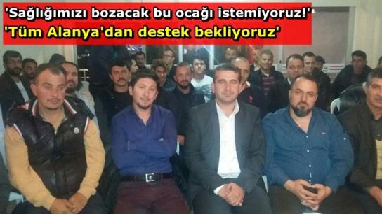Güzelbağ'da çakıl ocağı isyanı