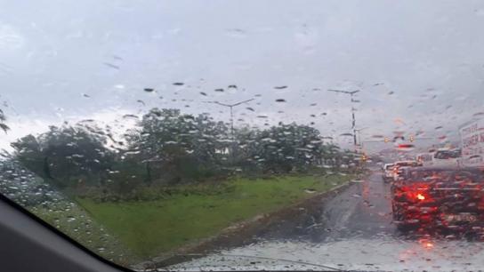 Alanya bugün yağmurla sevinci