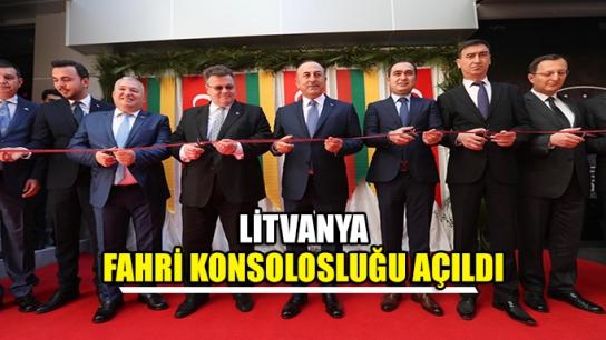 Litvanya Fahri Konsolosluğu açıldı