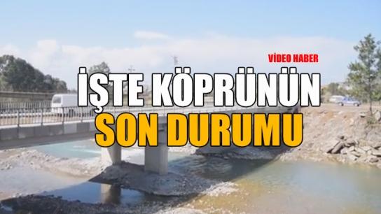 Demirtaş Köprüsü'nde çalışamalar son aşamaya geldi