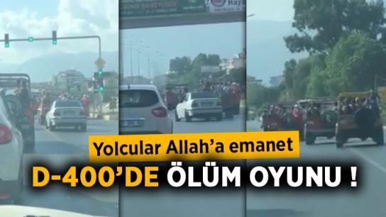 Alanya'da tehlike saçıyorlar! Yolcular Allah'a emanet