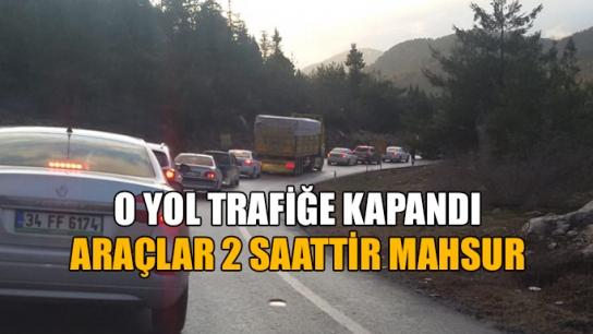 Konya'ya gidecekler dikkat! Dinamit patlatılınca…
