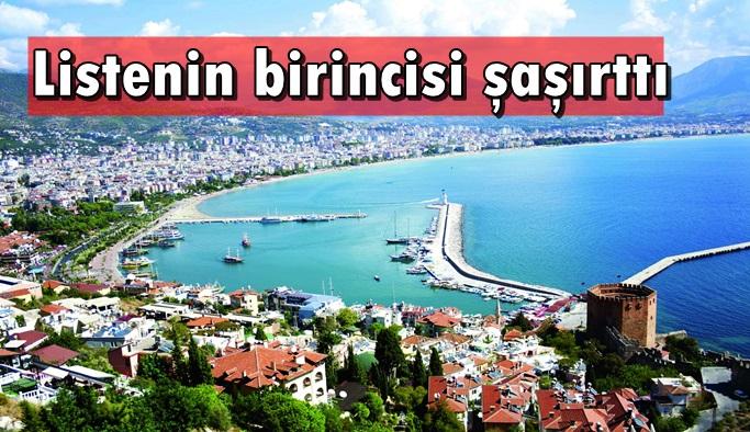Antalya en yaşanılır 8. kent