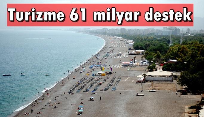 Antalya'ya 17 milyar TL kullandırıldı