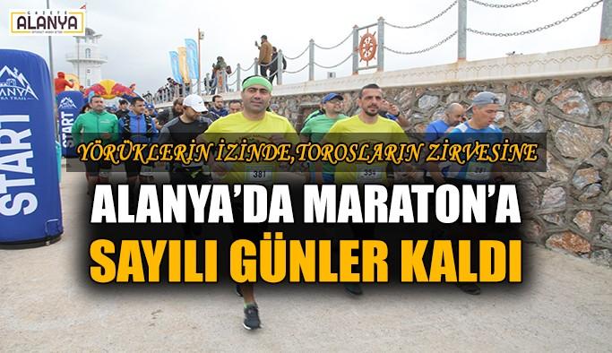 Alanya'da Maraton'a sayılı günler kaldı