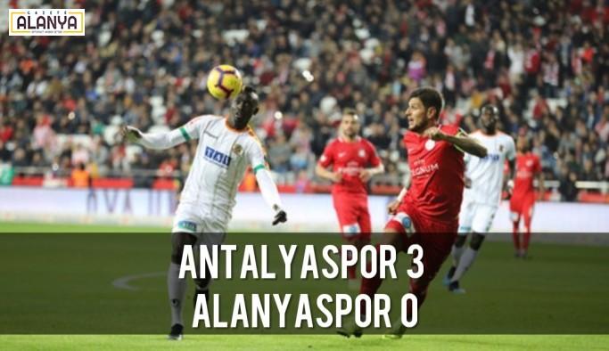 Antalyaspor 3 Aytemiz Alanyaspor 0