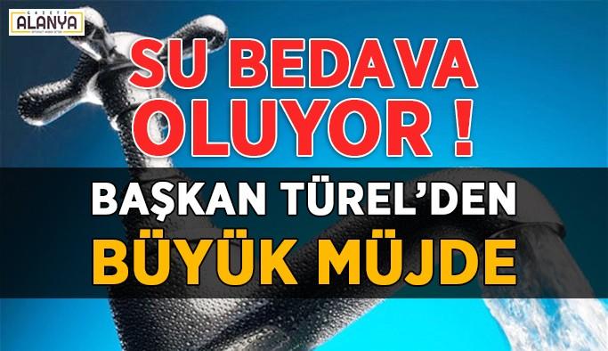 Başkan Türel'den büyük müjde !