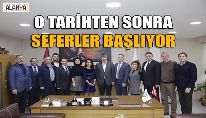 Başkan Türel'den tramvay müjdesi