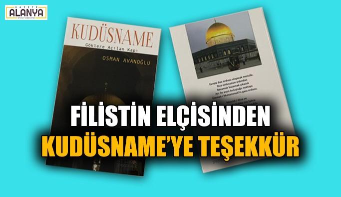 Filistin Elçisinden Kudüsname'ye teşekkür