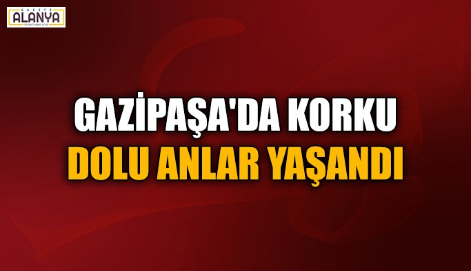 Gazipaşa'da trafik kazası ucuz atlatıldı