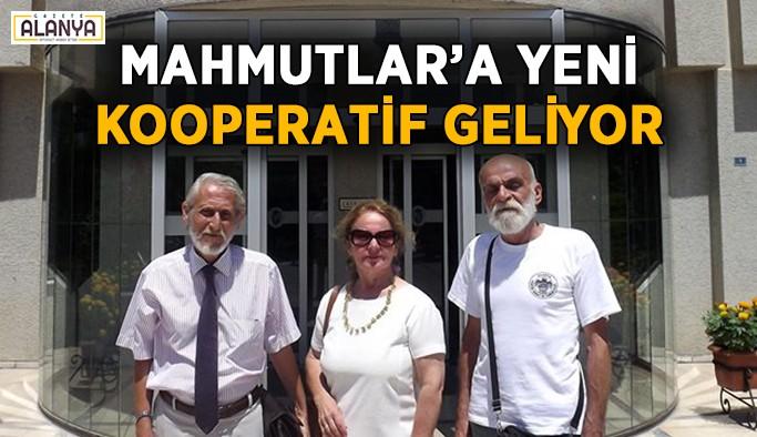 Mahmutlar'a yeni kooperatif geliyor!