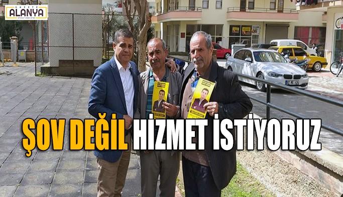 Mesut İlhan iddialı: Mahmutlar şov değil hizmet istiyor