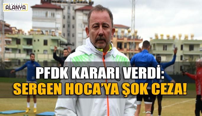 Sergen Yalçın'a şok ceza! 2 maç…