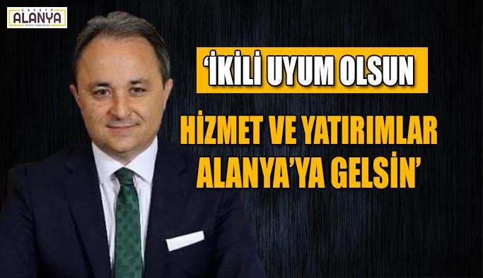 Uludağ, Cumhur İttifakı'na destek istedi