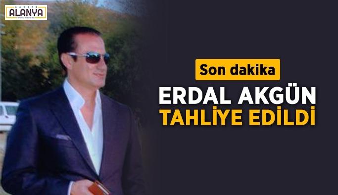 Ünlü İş adamı Erdal Akgün serbest bırakıldı