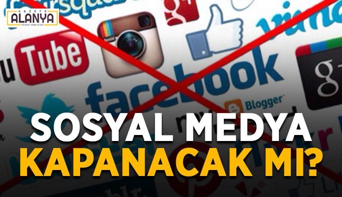 SON DAKİKA! Ahlaksızlık vurgusu yapıldı: Sosyal medya kapanacak mı?