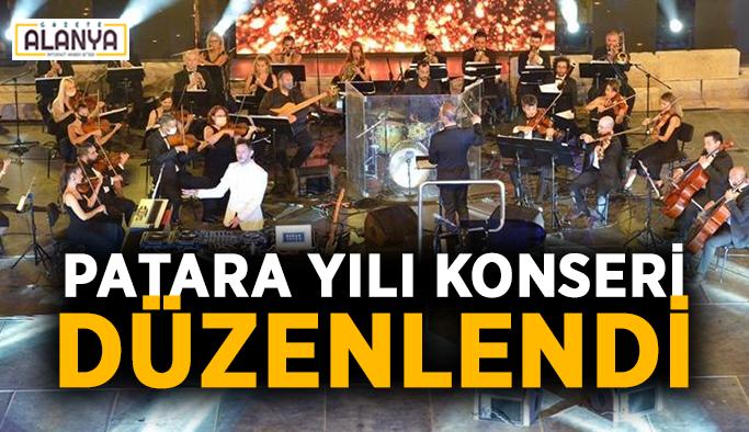 Patara yılı konseri düzenlendi