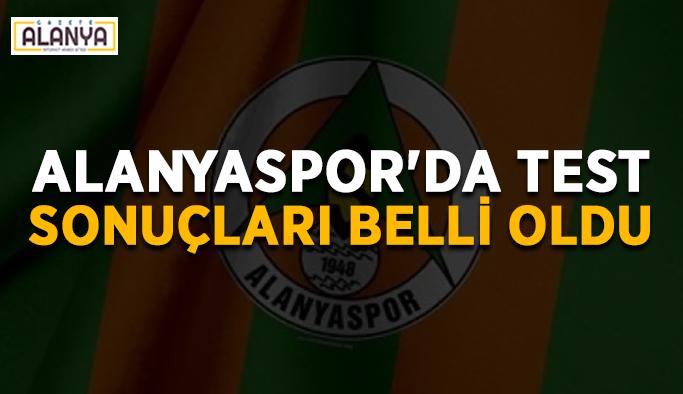 Alanyaspor'da korona testi sonuçları belli oldu