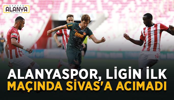 Alanyaspor, ligin ilk maçında Sivas'a acımadı