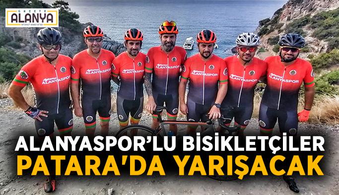Alanyaspor'lu bisikletçiler Patara'da yarışacak